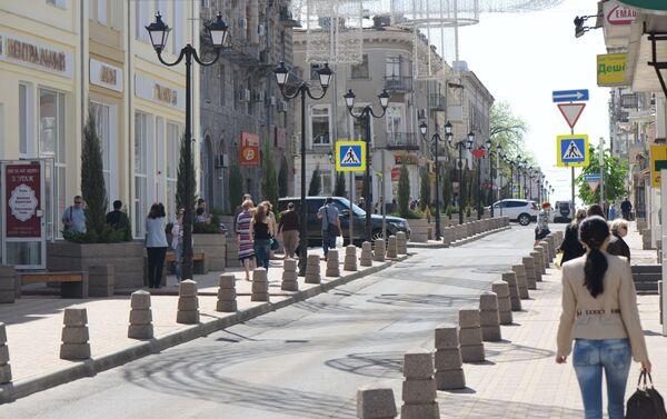 La ciudad de Rostov del Don fue fundada a mediados del siglo XVIII y su casco histórico está dominado por edificios de estilo neoclásico y neobizantino. - Sputnik Mundo
