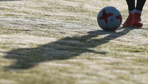 La selección de Argentina en su entrenamiento para el partido amistoso con Rusia - Sputnik Mundo