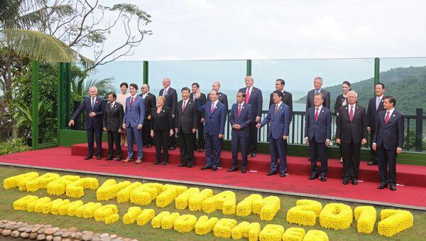 Los líderes de los países integrantes de APEC - Sputnik Mundo
