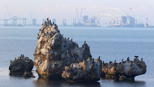 La puente de Crimea - Sputnik Mundo