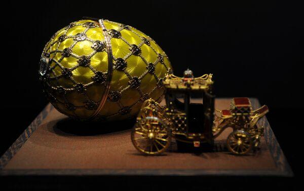 Huevo de la coronación, el taller de joyería de Fabergé - Sputnik Mundo