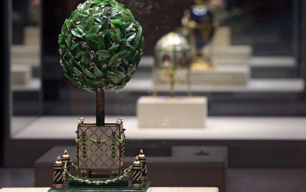 Huevo del naranjo, el taller de joyería de Fabergé - Sputnik Mundo