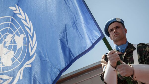 Misión de paz de la ONU (archivo) - Sputnik Mundo