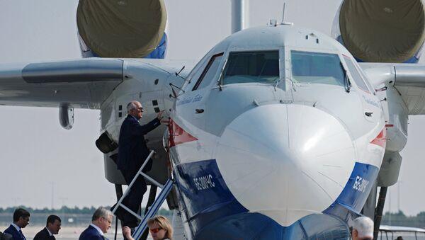 El avión amfibio Be-200 - Sputnik Mundo