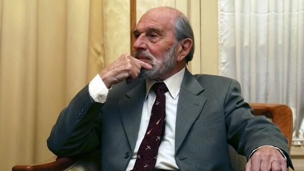 George Blake, exespía soviético (archivo) - Sputnik Mundo