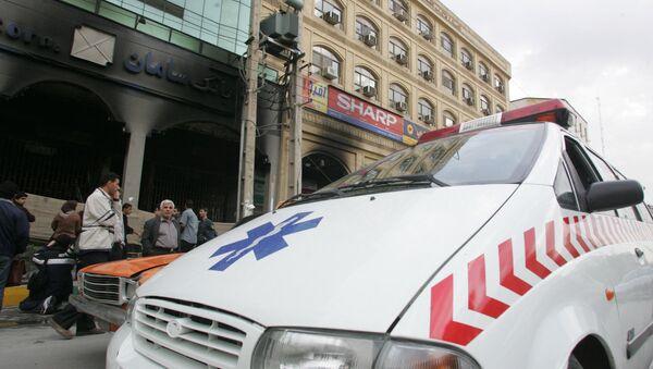 Ambulancia iraní - Sputnik Mundo