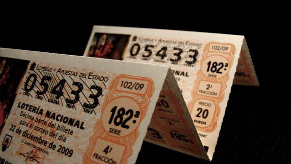 Billetes de Lotería de Navidad - Sputnik Mundo