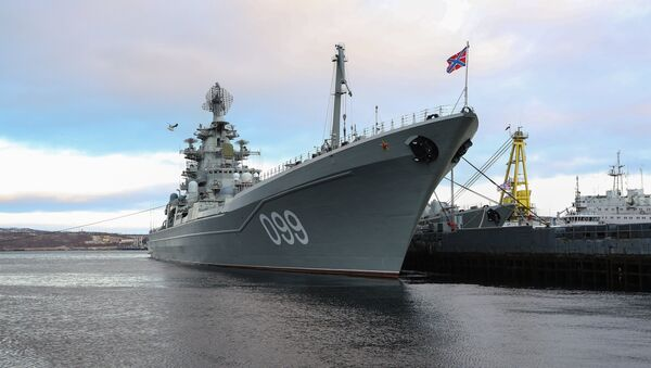 Crucero Piotr Veliki - Sputnik Mundo