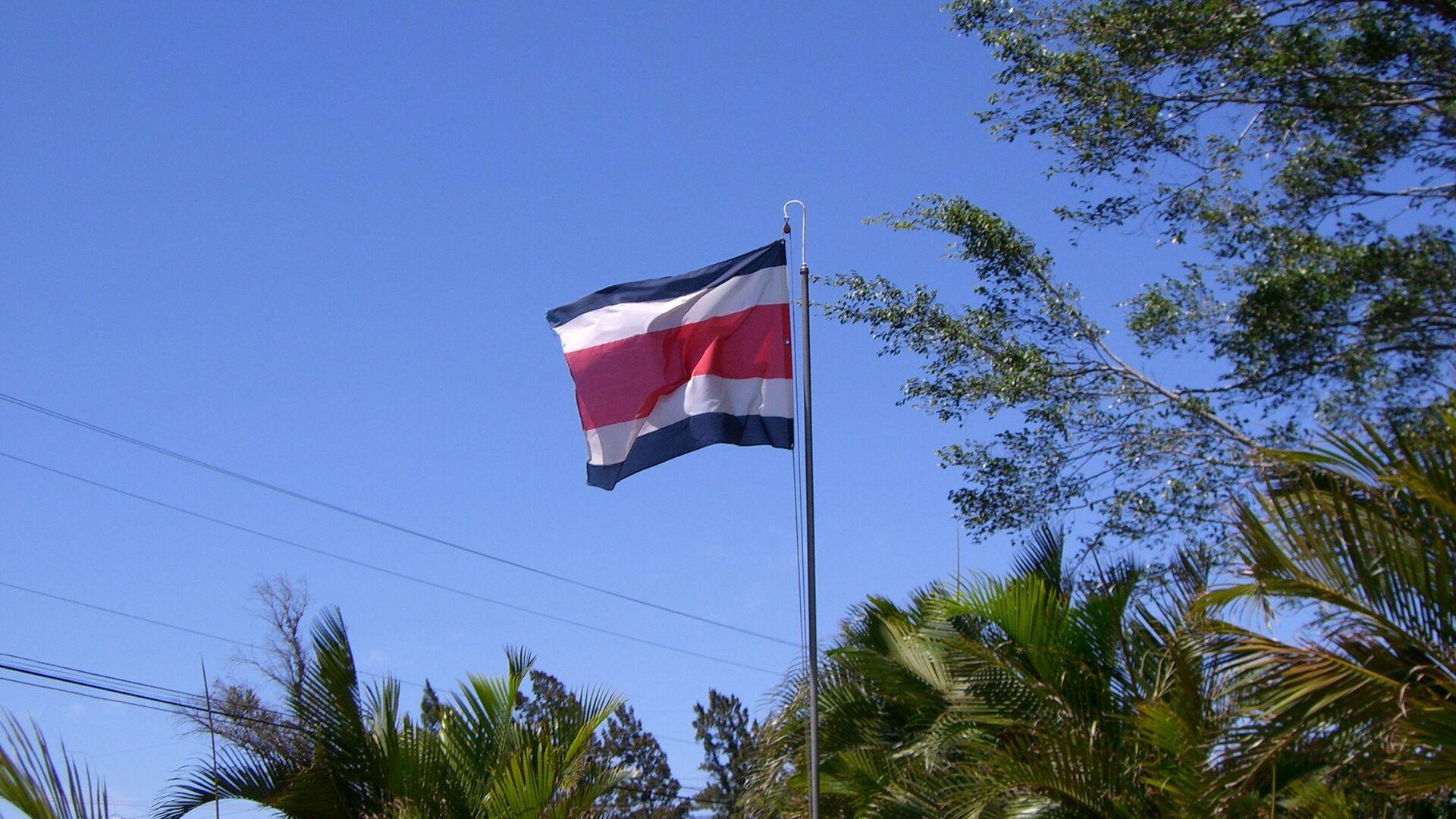 Bandera de Costa Rica - Sputnik Mundo, 1920, 07.05.2021