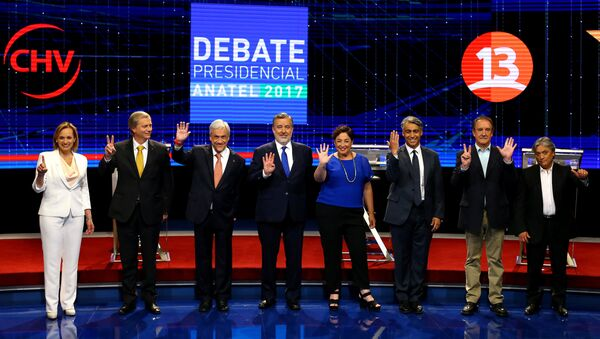 Candidatos a la presidencia de Chile - Sputnik Mundo