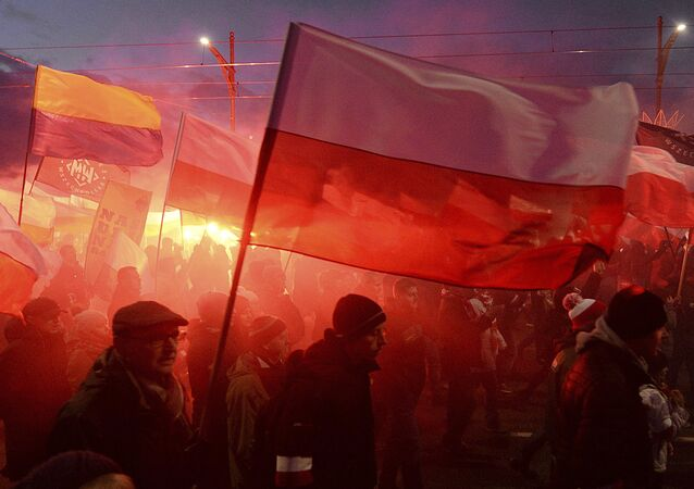 Manifestaciones de ultraderecha en Varsovia