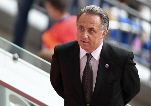 Vitali Mutkó, el presidente de la Unión del Fútbol de Rusia
