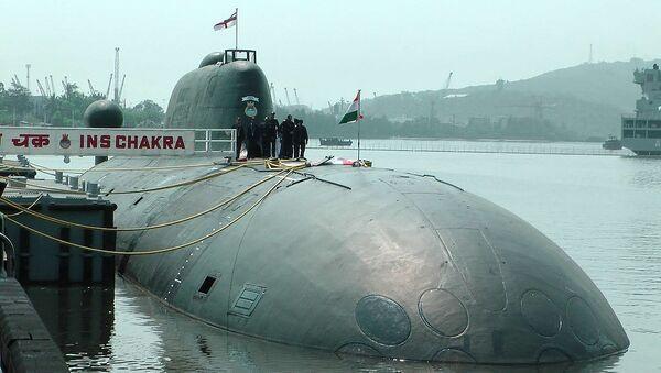 Submarino indio Chakra - Sputnik Mundo