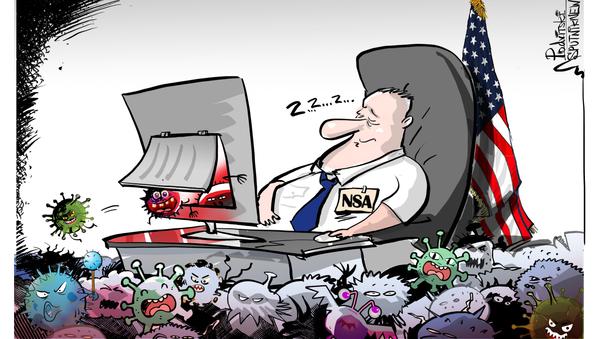 ¡Durmiendo en los laureles! Una filtración arruina la moral de la NSA - Sputnik Mundo