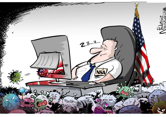 ¡Durmiendo en los laureles! Una filtración arruina la moral de la NSA