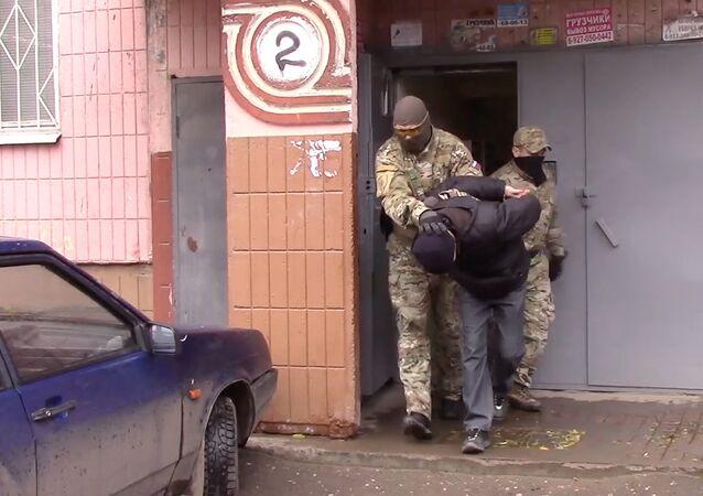El cuerpo de seguridad de Rusia (FSB) (archivo)