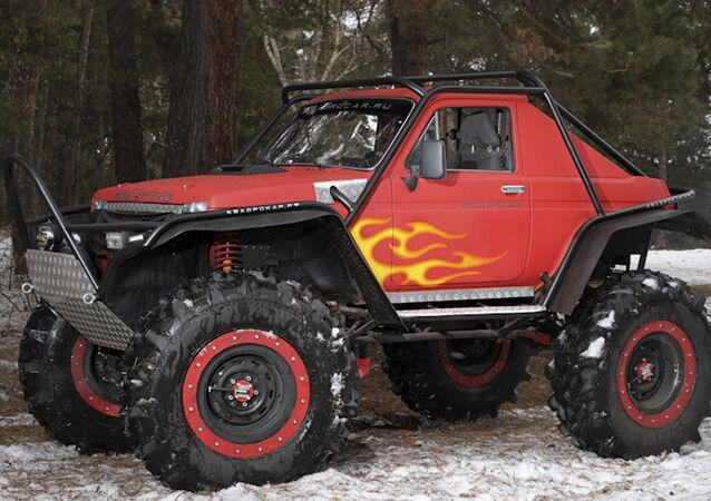 Red Stone, la versión modernizada de Lada Niva