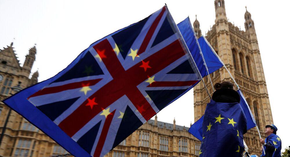Protestas anti-Brexit en Londres