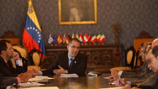 Jorge Arreaza, el canciller de Venezuela (archivo) - Sputnik Mundo