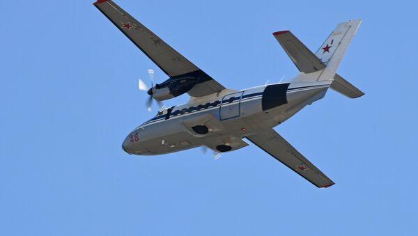 Un avión L-410  (archivo) - Sputnik Mundo
