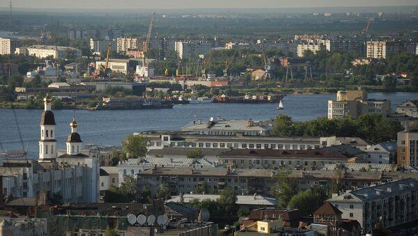 La ciudad rusa de Arjánguelsk - Sputnik Mundo