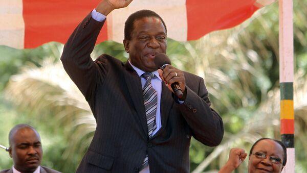 Emmerson Mnangagwa, vicepresidente de Zimbabue - Sputnik Mundo