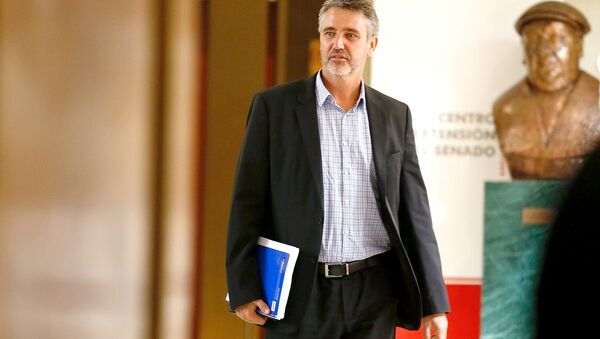 Fulvio Rossi, senador chileno (archivo) - Sputnik Mundo