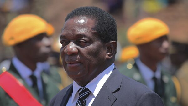 Emmerson Mnangagwa, presidente de Zimbabue (archivo) - Sputnik Mundo