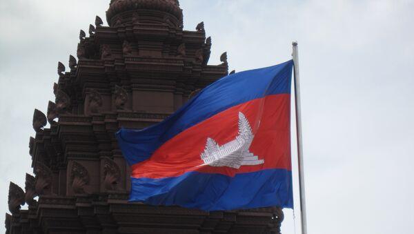 Bandera de Camboya - Sputnik Mundo