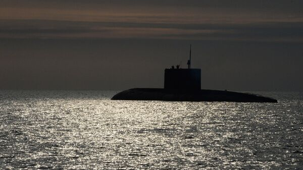 Un submarino (imagen referencial) - Sputnik Mundo