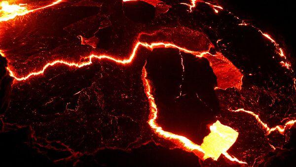Un volcán etíope - Sputnik Mundo