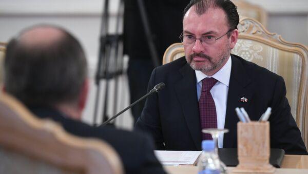 Luis Videgaray Caso, el secretario de Relaciones Exteriores de México - Sputnik Mundo