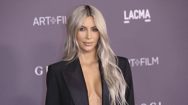 Kim Kardashian West, celebridad estadounidense - Sputnik Mundo