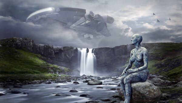 Una extraterrestre (impresión artística) - Sputnik Mundo