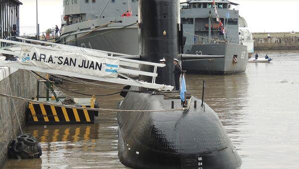 Submarino ARA San Juan (archivo) - Sputnik Mundo