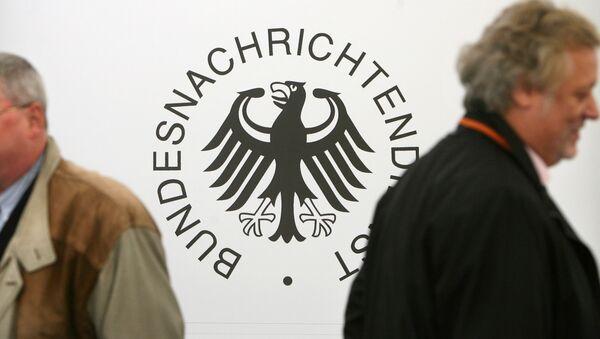 Logo del Servicio de Inteligencia Alemán (BDN) - Sputnik Mundo