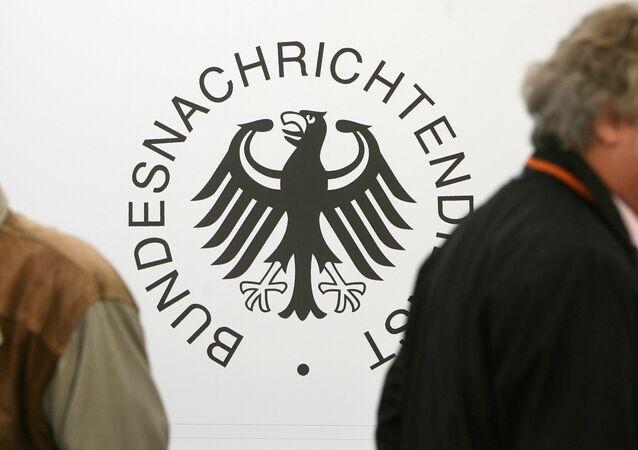 Logo del Servicio de Inteligencia Alemán (BDN)