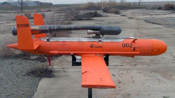 Un misil-blanco de propulsión E95 de la empresa Enics - Sputnik Mundo