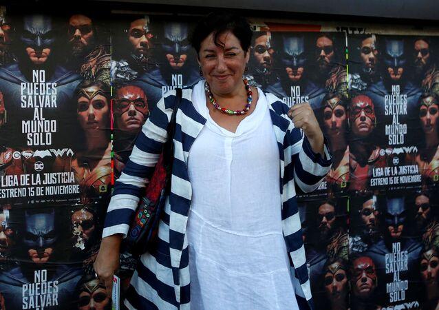 Beatriz Sánchez, candidata a la presidencia de Chile