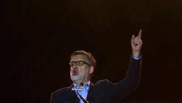 Alejandro Guillier, candidato oficialista chileno (archivo) - Sputnik Mundo