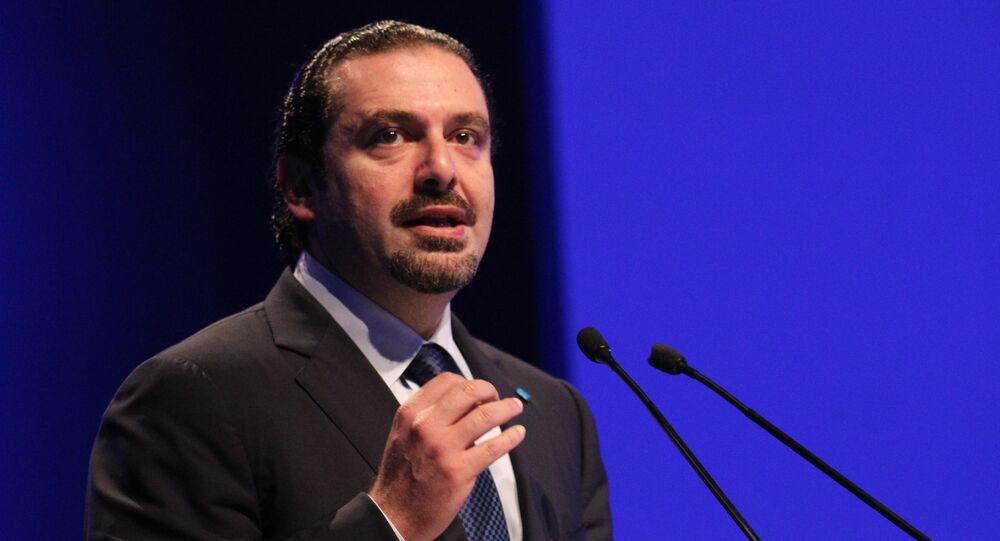 Saad Hariri, el primer ministro del Líbano