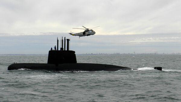 Submarino San Juan (archivo) - Sputnik Mundo