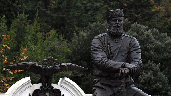 El monumento al emperador Alexandr III - Sputnik Mundo