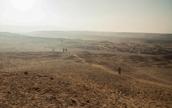 El complejo arqueológico de Deir el Banat, en el oasis de El Fayum, Egipto - Sputnik Mundo