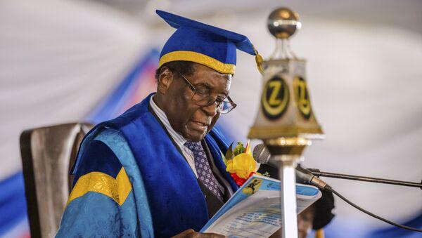 Robert Mugabe - Sputnik Mundo
