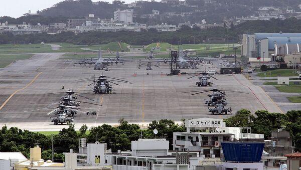 La base militar estadounidense en la isla de Okinawa - Sputnik Mundo