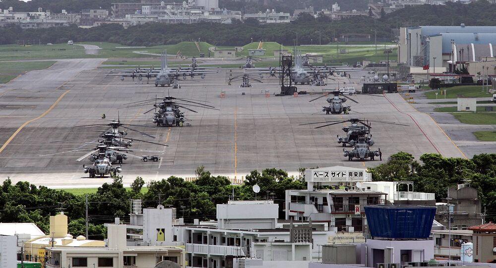 La base militar estadounidense en la isla de Okinawa (archivo)