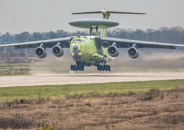 Avión de alerta temprana y control aerotransportado A-100