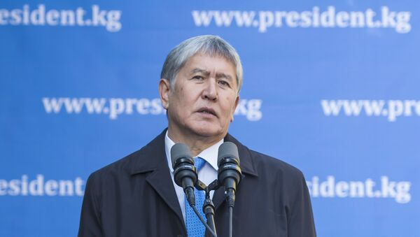 Almazbek Atambáev, expresidente de Kirguistán - Sputnik Mundo