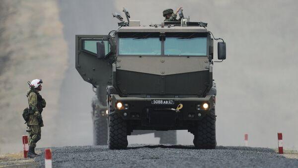 Taifun-K, vehículo blindado ruso - Sputnik Mundo